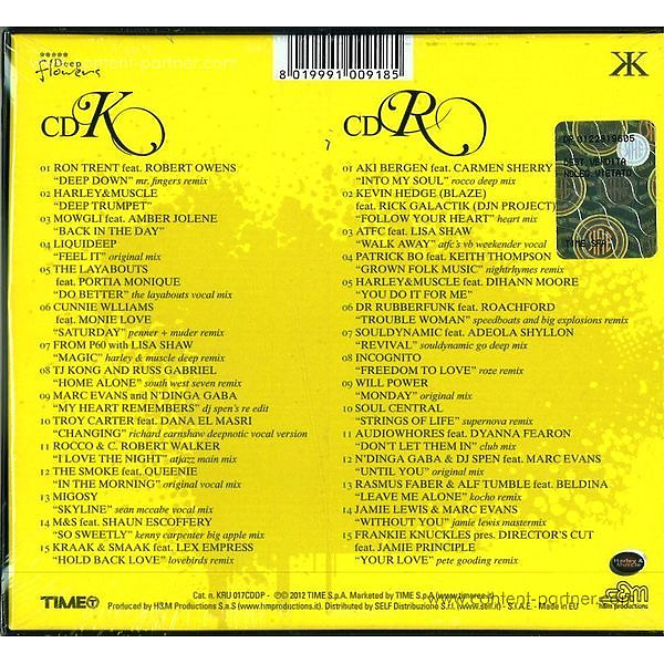 Various/Rush,Kay - Unlimited Vol.13 (Back)
