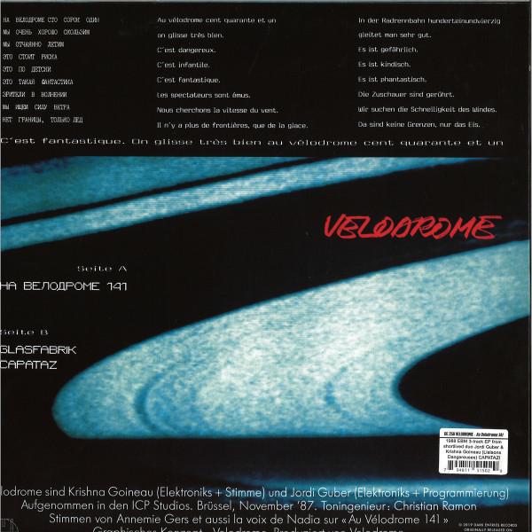 Velodrome - DE256 (Back)