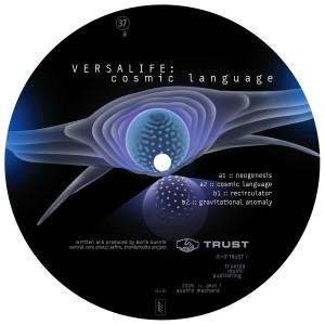 Versalife - Cosmic Language (Back)