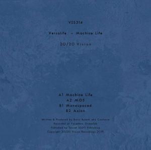 Versalife - Machine Life (Back)
