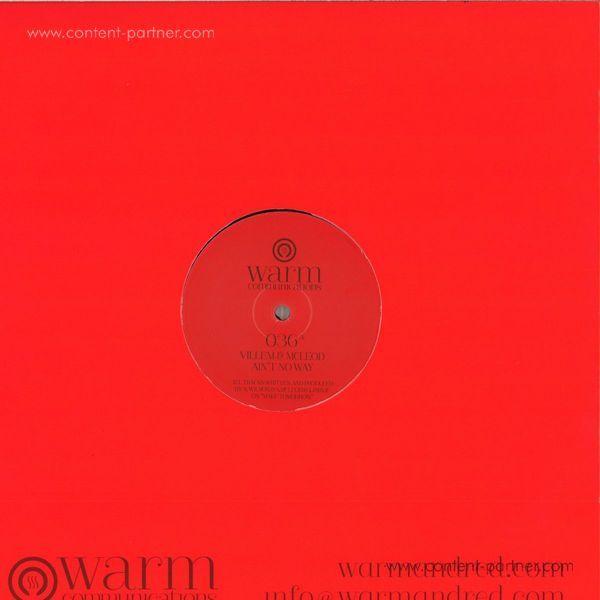 Villem & Mcleod - Ain't No Way / Make Tomorrow (Back)