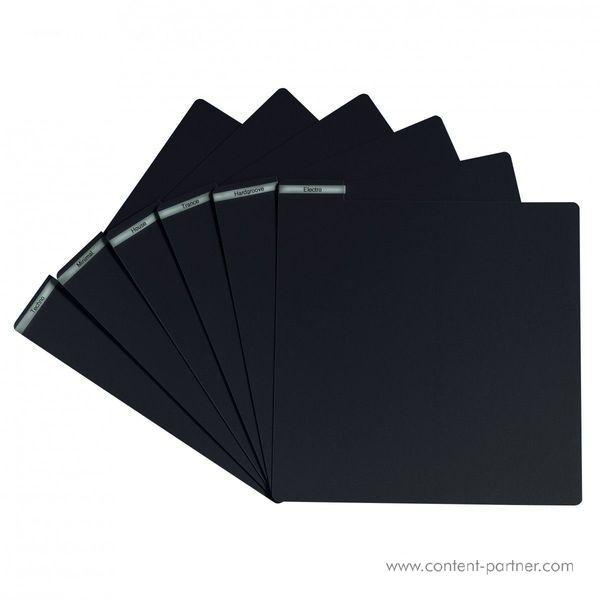 Vinyl Divider - Black Vinyl Divider (Back)