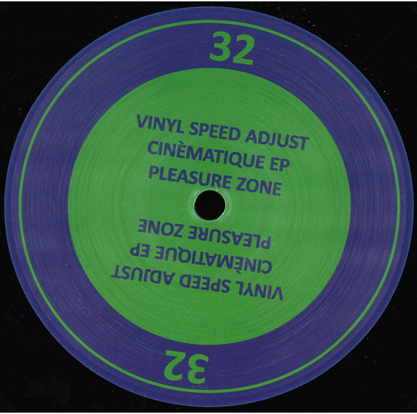 Vinyl Speed Adjust - Cinèmatique EP