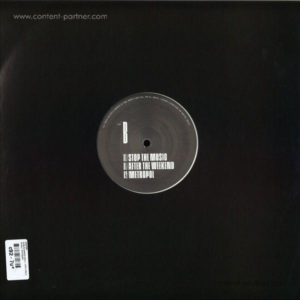 Visitor - Dublin (White Vinyl) (Back)
