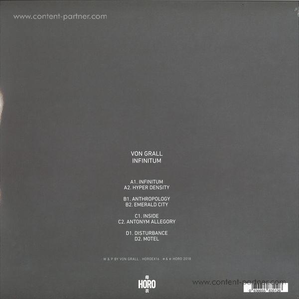 """Von Grall - Infinitum 2x12"""" (Back)"""