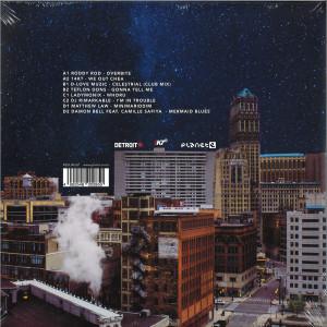 WAAJEED - Detroit Love 3 (2LP) (Back)
