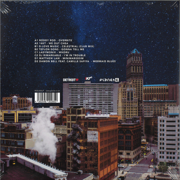 WAAJEED - Detroit Love 3 (2LP) (Back)
