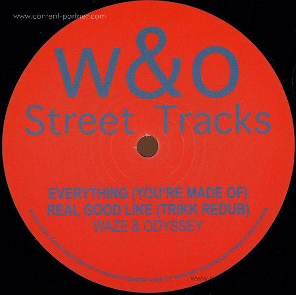 WAZE & ODYSSEY - Real Good Like EP (Back)