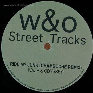 WAZE & ODYSSEY - Ride My Junk Re-fix (180 gram vinyl)