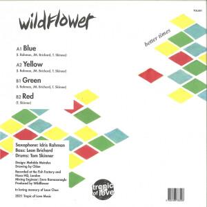 WILDFLOWER - BETTER TIMES (Back)