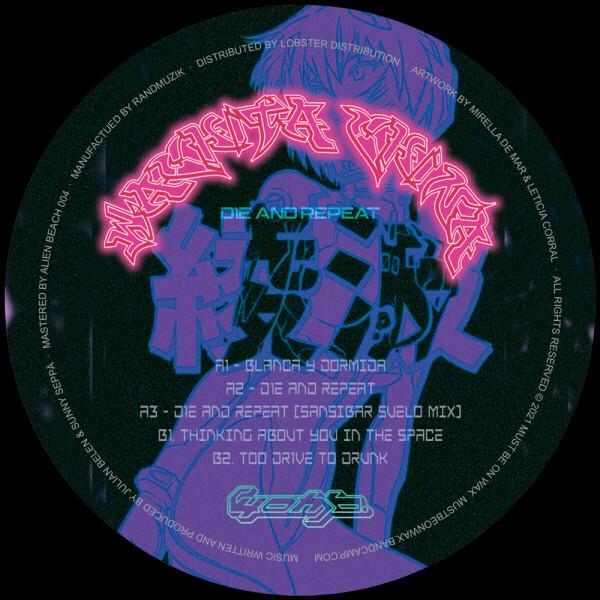 Wachita China - D1E AND REPEAT (incl. Sansibar Remix) (Back)