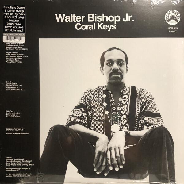 Walter Bishop Jr. - Coral Keys (LP Reissue)