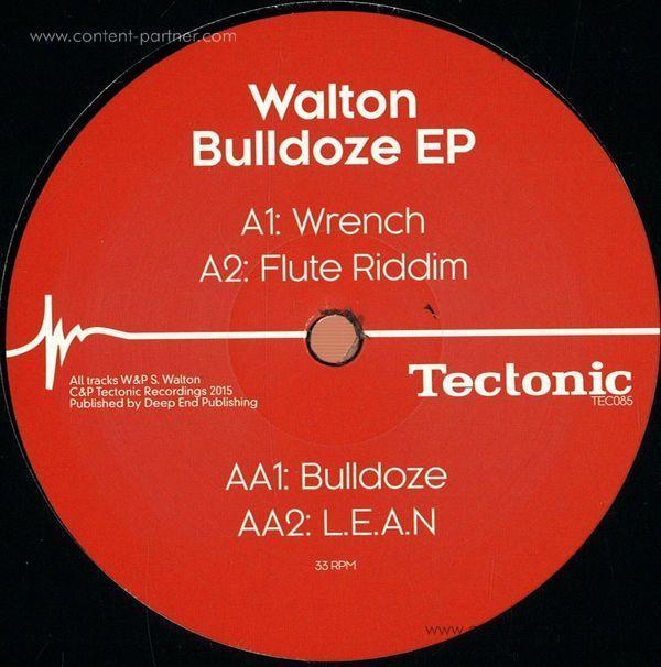 Walton - Bulldoze EP (Back)
