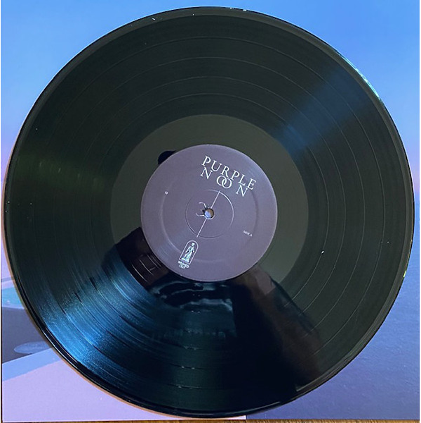 Washed Out - Purple Noon (Black Vinyl LP)) (Back)