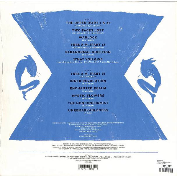 Web Web - Worshippers (LP+MP3) (Back)