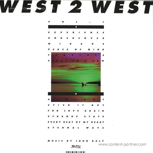 West 2 West - Vol. 1 (Back)