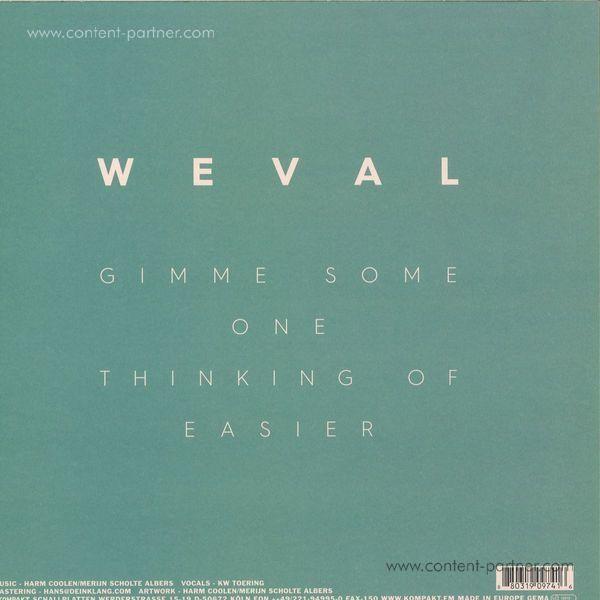 Weval - Easier EP (Back)