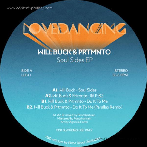 Will Buck & Prtmnto - Soul Sides EP (Back)