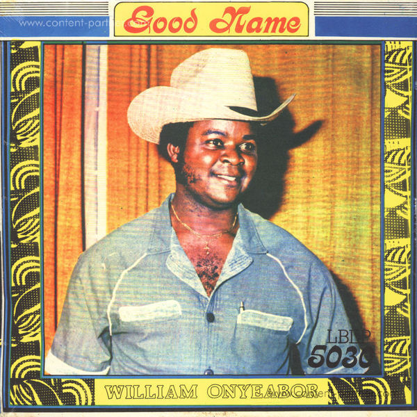 William Onyeabor - Good Name (Re-Issue)