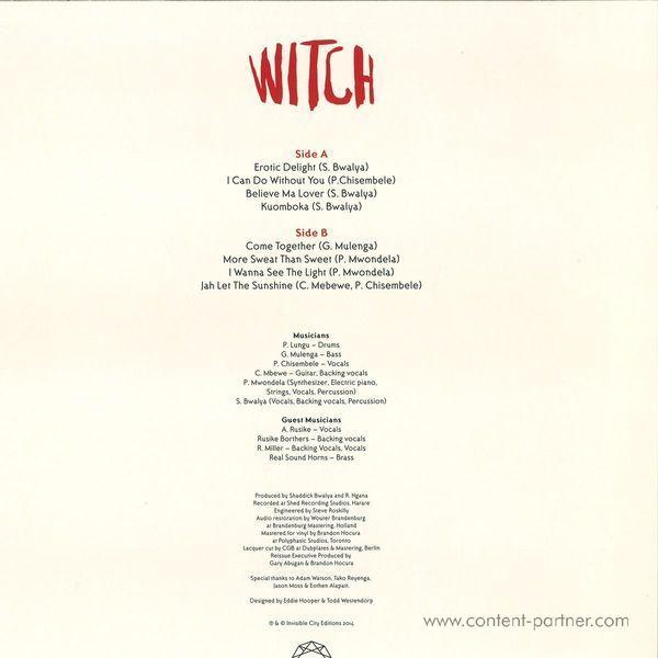 Witch - Kuomboka (Back)