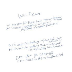 Wolfram - Remix EP (incl. Westbam / DJ Gigola & Rip M rmxs)