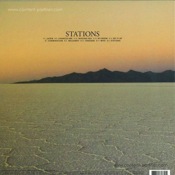 Woolfy vs. Projections - Stations (LP + CD) (Back)