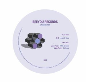 Xhz, Jake Flory - Lavender EP (Back)