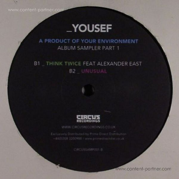 YOUSEF - A PRODUCT OF YOUR ENVIROMENT - S 1 (Back)