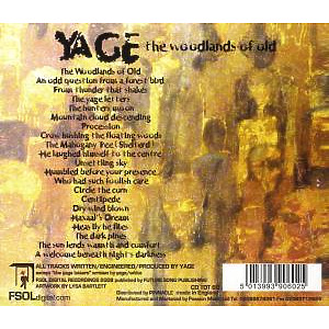 Yage - The Woodlands Of Old (Back)