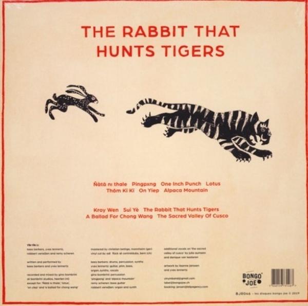 Yin Yin - The Rabbit That Hunts Tigers (LP) (Back)