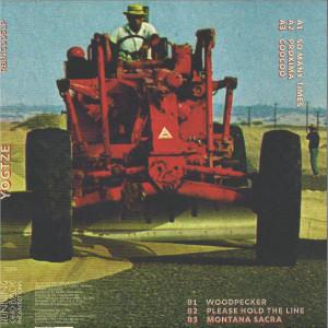 Yogtze - Yogtze (LP) (Back)
