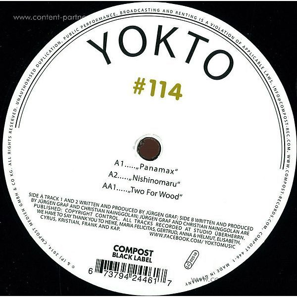 Yokto - Compost Black Label 114