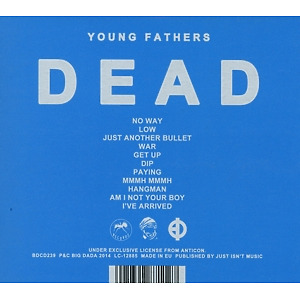 Young Fathers - Dead (Back)