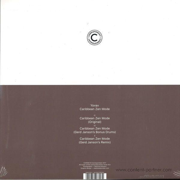 Yovav - Caribbean Zen Mode Ep (incl. Gerd Janson Remix) (Back)