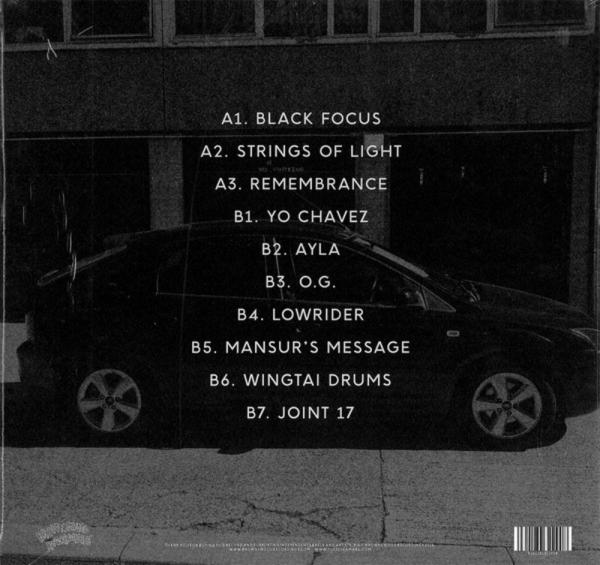 Yussef Kamaal - Black Focus (Back)