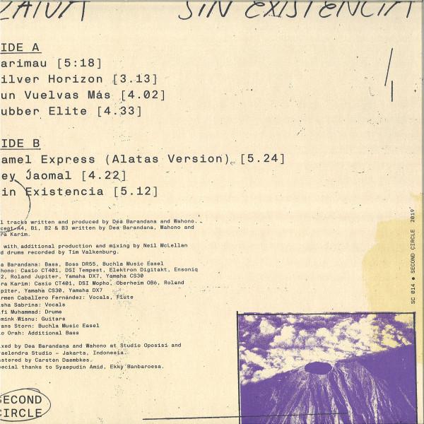 ZATUA - SIN EXISTENCIA (Back)