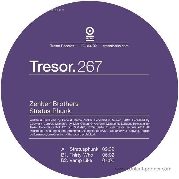 ZENKER BROTHERS - stratus phunk / thirty-who / vamp like