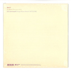 ZERO 7 - HOME / SOMERSAULT (Back)