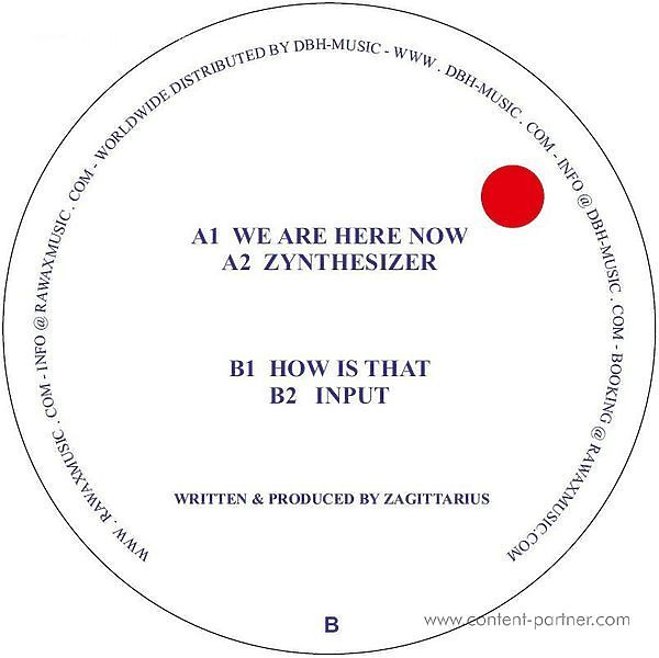 Zagittarius - We Are Here Now (Back)
