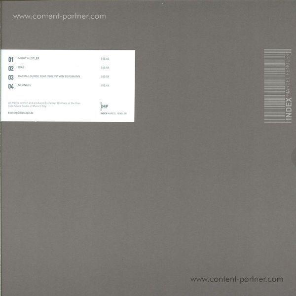 Zenker Brothers - Pollioni (Back)