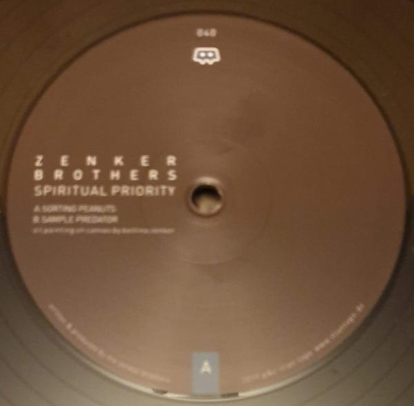 Zenker Brothers - Spiritual Priority (Back)