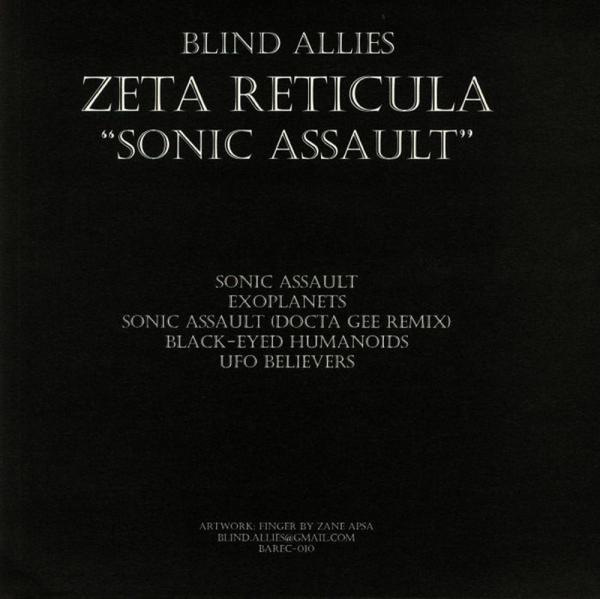 Zeta Reticula - Sonic Assault (Back)