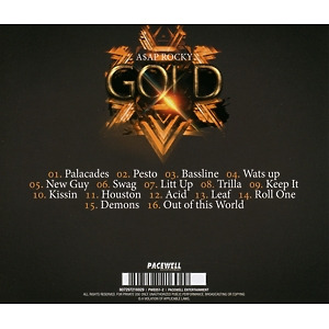 a$ap rocky - gold (Back)