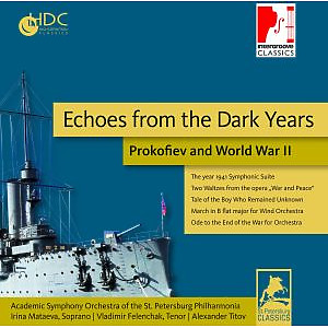 academic symphony orchestra of the st.pe - echoes from the dark years.prokofiev and