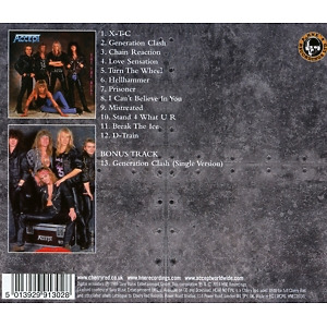 accept - eat the heat (expanded+remastered ed.) (Back)