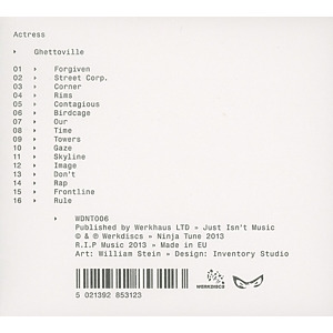 actress - ghettoville (Back)