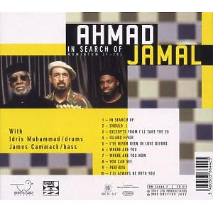 ahmad jamal - in search of...momentum (Back)