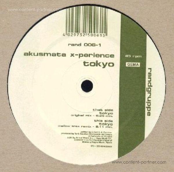 akustamata x-perience - tokyo (Back)
