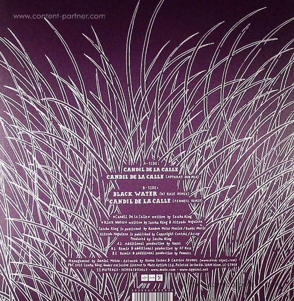 apparat - Candil de la Calle (DJ Koze Remix) (Back)