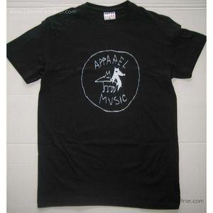 apparel t-shirt - black, size xl
